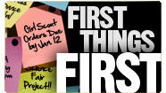 First Things First - Make Time For God