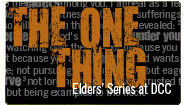 The One Thing, The Elders Series - Brad Long