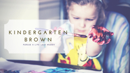 Kindergarten Brown - Singluarity // Justin Ulrich // March 4, 2018
